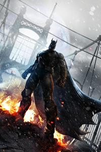 320x480 Batman Arkham Origins 2021 5k