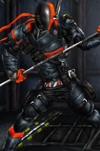 Batman Arkham Origins Deathstroke Fanart