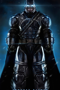 480x800 Batman Armoured Art