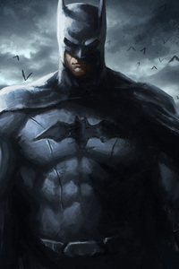 720x1280 Batman Art 4k