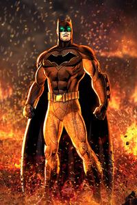 800x1280 Batman Artwork 2020 4k