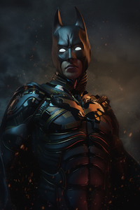 480x800 Batman As Christian Bale 4k