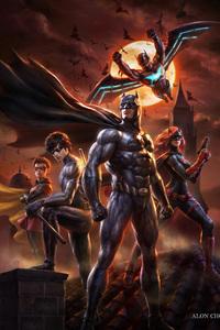 Batman Bad Blood Artwork