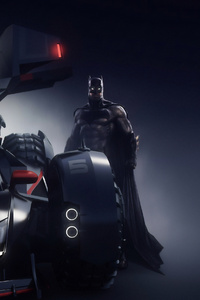 360x640 Batman Batmobile 4k