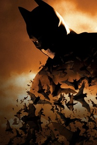 360x640 Batman Begins 4k Poster