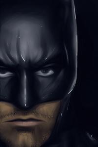 320x480 Batman Ben Affleck Art