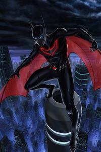 320x480 Batman Beyond 2020 Art 4k