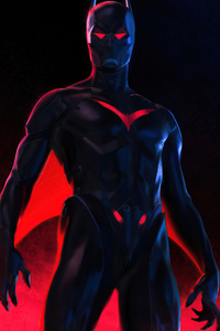 1080x2280 Batman Beyond 2020 Art