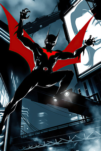Batman Beyond 2020 Art New