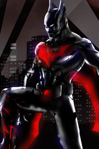 640x1136 Batman Beyond 2020 New 4k Art