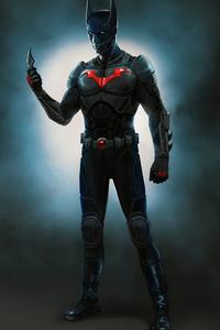 320x568 Batman Beyond Action Suit 4k