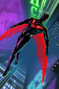 320x480 Batman Beyond City Of Joker