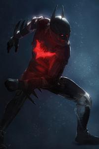 1440x2960 Batman Beyond Concept Art