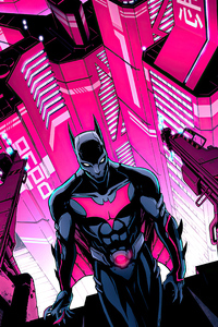 750x1334 Batman Beyond Cyber City