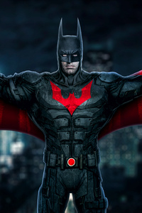 320x480 Batman Beyond Fanart