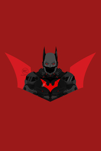 1440x2560 Batman Beyond From Arkham Knight Suit