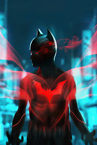1080x2280 Batman Beyond Hero