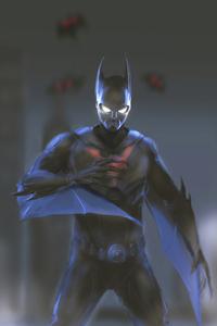 Batman Beyond In Night