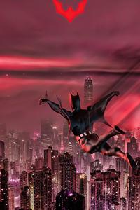 Batman Beyond Jumping In City 5k