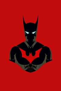 Batman Beyond Minimalism 4k