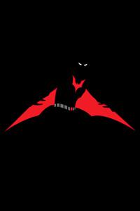 720x1280 Batman Beyond Red Wings Minimal 8k