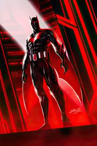 1080x1920 Batman Beyond Red World 4k