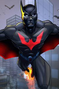 1242x2688 Batman Beyond Suit 5k