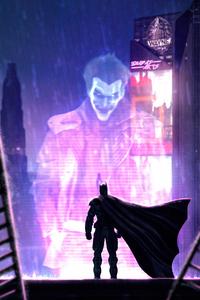 1080x2280 Batman Beyond Watching Joker 4k