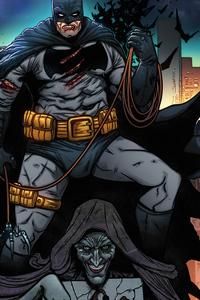 540x960 Batman Black And White Comic 5k
