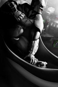 Batman Black And White Gotham City