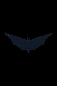 540x960 Batman Blue Logo 8k