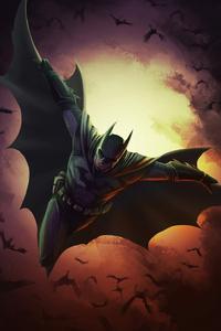 Batman Cape Flying 4k