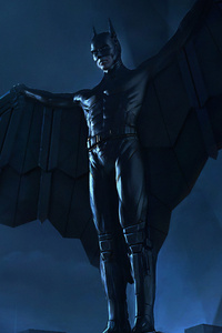 1440x2960 Batman Cape Up