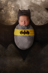 750x1334 Batman Child