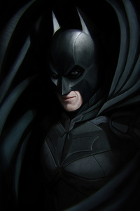 320x480 Batman Christian Bale 2020