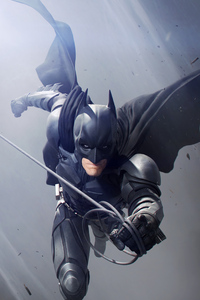 360x640 Batman Christian Bale Art
