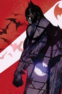 1080x1920 Batman City Minimal 5k
