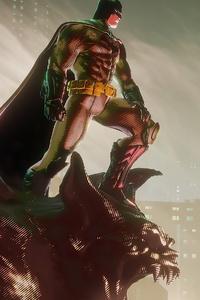 2160x3840 Batman City Of Gotham