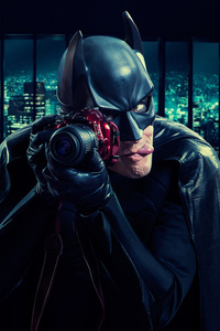 Batman Clicking Photos With Dslr
