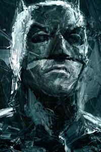 540x960 Batman Closeup Portrait