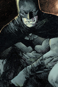 Batman Comic Art