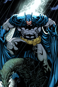 Batman Comic Arts