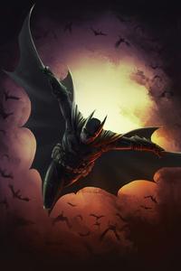 720x1280 Batman Comic Artwork 4k