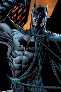 Batman Comic Artwork