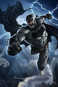 1440x2560 Batman Comics Art