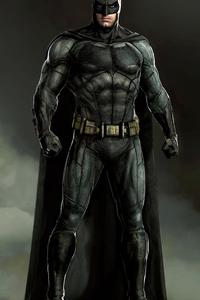1125x2436 Batman Conceptartwork