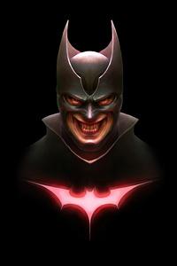 Batman Creepy Smile