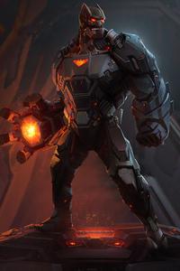 320x480 Batman Cyber Artwork