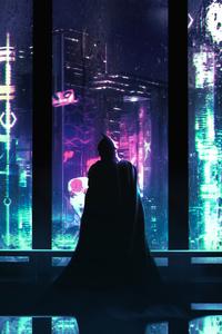 Batman Cyber Night City 4k