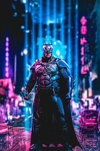 Batman Cyberpunk Art 4k